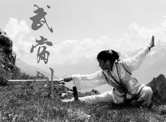 Tai Chi and Bagua master, Bow Sim Mark, demonstrates Wudang Tai Chi Sword. She has taught for many years in Boston and is the mother of Hong Kong martial arts film superstar, Donny Yen. - #TaiChi #Taijiquan