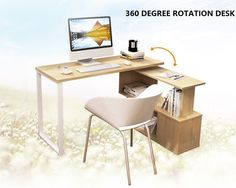 Brand New Study/Office/Home Rotating Desk GF158-1205