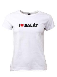 Dámské tričko ZOOT I ♥ SALÁT 1
