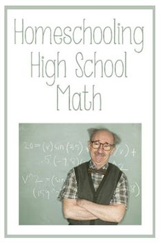 red oak road: Homeschooling Advanced Math