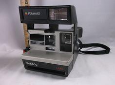 Camera Untested Vintage Polaroid Sun 600 L M S Clean & Nice.epsteam