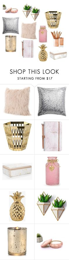 """""""Home Office Decor"""" by zambetgratisblog-giagianina on Polyvore featuring interior, interiors, interior design, home, home decor, interior decorating, Ghidini 1961, Ted Baker, Chico's and Aromatique"""