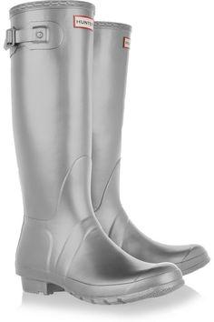 64a04cff29f3 Hunter Original Great metallic Wellington boots  GiftFinder Hunter Wellies