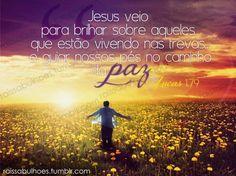 Jesus guia os nossos passos