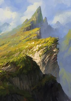 south land, kevin hou on ArtStation at https://www.artstation.com/artwork/south-land