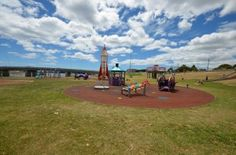 There are two huge park areas with lots of different activities for children in Ulverstone, Tasmania http://blog.moretas4less.com/exploring-ulverstone-north-west-tasmania-2/