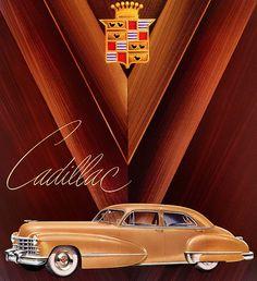 Plan59 :: Classic Car Art :: 1947 Cadillac