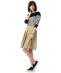 DRESSTERIOR(LADIES)(ドレステリアレディス)のタックギャザースカート(スカート)|詳細画像