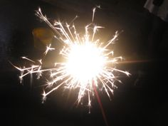 Sparklers with the homestay family in Yamanashi, Japan