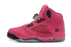 a2f9df33c84 Buy Real Authentic Air Jordan V Shoes Pink Black Discount from Reliable  Real Authentic Air Jordan V Shoes Pink Black Discount suppliers.