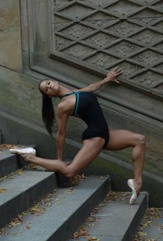 MISTY COPELAND - the first African American female soloist for the American Ballet Theatre.