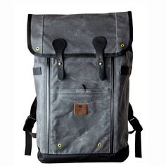 Babylon Backpack - Charcoal by Wheelmen & Co. | Maxton Men