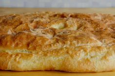 "Vanhanajan lihapiirakka tehdään suoraan pellille - ""Kerrassaan mahtava resepti"" Meat Recipes, Baking Recipes, Finnish Recipes, Savory Pastry, Pastry Cake, Food And Drink, Bread, Cooking, Free Knitting"