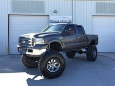 2004 Ford F 250 Lariat Lifted Bulletproof Monster Truck!