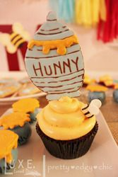 """Photo 1 of 28: Winnie the Pooh Baby Shower / Baby Shower/Sip & See """"Pooh's Hundred Acre Wood"""" 