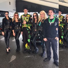 Spearmint Rhino Grid Girls with Forrest Wang -join us today at long beach Grand Prix (Formula Drift)