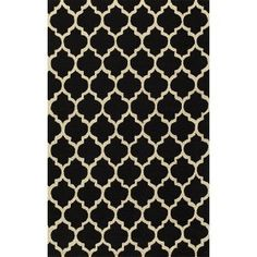 Simple Morocco Area Rug - Black : Target Mobile