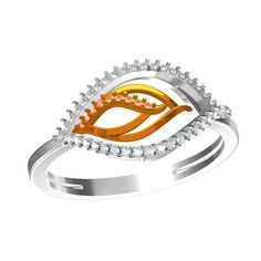 Jpearls Beauteous Darling Daimond Ring