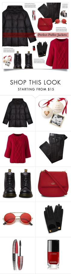"""""""Perfect Puffer Jackets"""" by lenochca ❤ liked on Polyvore featuring Gérard Darel, Mark & Graham, Lands' End, BRAX, Dr. Martens, Kate Spade, ZeroUV, Mulberry, L'Oréal Paris and Chanel"""