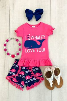 Toddler Baby Girl Kids Animal Top T-Shirt Shorts Pants Outfit Set Clothes Summer