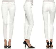 Joes Jeans just unveiled a new collection of stain repellent WHITE jeans. | You're Going To Want These White Jeans That Won't Stain