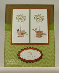 Blog Post Date:  Apr 29, 2010.  Bouquet Bunch and Oval All stamp set.