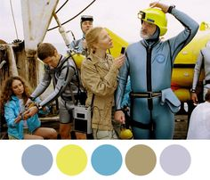 Wes Anderson Palettes. — Steve Zissou: Please don't make fun of me. I just...