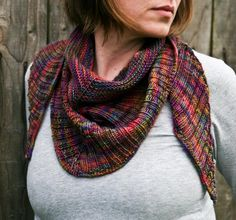 This reminds me of your dropped-stitch scarf - - - Ananke