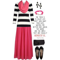 """""""Pink and Black again......."""" by jamie-burditt on Polyvore"""