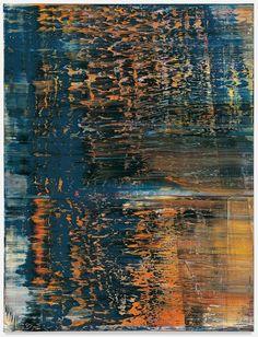 Wald (4) (Forest [4]), 1990  Gerhard richter