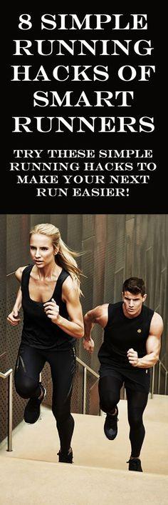 Try these simple running hacks to make your next run easier! #runningtips #runningbeginner #runningadvice #running #runninghacks