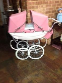 Buy and sell almost anything on Gumtree classifieds. Twin Pram, Vintage Pram, Prams And Pushchairs, Dolls Prams, Baby Carriage, Baby Strollers, Twins, Children