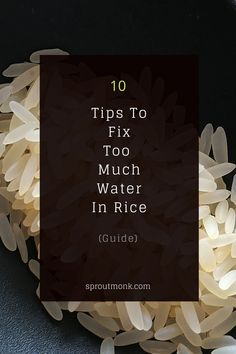 Wondering how to fix too much water in rice? Take a look at this guide to find some of the most useful ideas to solve this problem! North Indian Recipes, South Indian Food, Indian Food Recipes, New Recipes, Ethnic Recipes, Food Tips, Diy Food, Food Hacks, How To Make Porridge