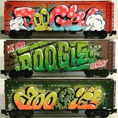 Boogie miniature graffiti =)