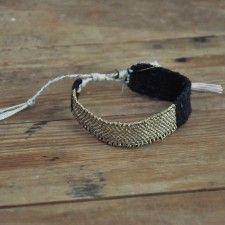 Bracelet LOOM n°08, MYRIAM BALAŸ DEVIDAL pour LE VESTIAIRE DE JEANNE