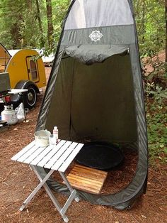 Many teardroppers feel that a camp shower is a luxury, but I think it's a necessity. After hiking or kayaking all day and then hanging aroun...