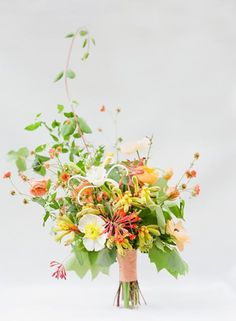 How to Pick the Best Blooms for a Spring Wedding via Brit + Co