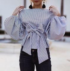 Comment your all? Fall Fashion Outfits, Chic Outfits, Sleeves Designs For Dresses, Stylish Dresses For Girls, Fancy Tops, High Street Fashion, Latest African Fashion Dresses, Fashion Sewing, Blouse Designs