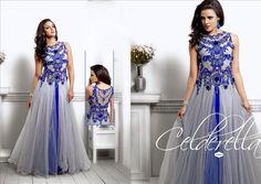 Indian Bollywood Ethnic Designer Anarkali Salwar Kameez Suit & Traditional H Lm Designer Anarkali, Designer Gowns, Indowestern Gowns, Net Gowns, Ethnic Gown, Fancy Gowns, Indian Bridal Wear, Ethnic Wear Designer, White Gowns