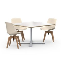 Seven tables squares