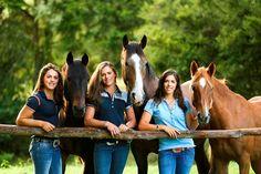 There the best 3 sisters in the WORLD!!!! I want to be just like them and I love HORSES. THEIR SOOOOOOOOOOOOOOOOO LUCKY.