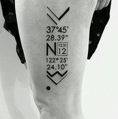 Geografic tatto