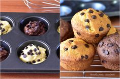 Impasto per MUFFIN di tutti i tipi Ricetta DOLCE in 5 minuti Sweet Cakes, Biscotti, Nutella, Dolce, Muffins, Dessert, Breakfast, Food, Pane