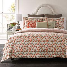 Happy Chic by Jonathan Adler Holly Reversible Duvet Cover Collection