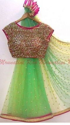 All Ethnic Customization with Hand Embroidery & beautiful Zardosi Art by Expert & Experienced Artist That reflect in Blouse , Lehenga & Sarees Designer creativity that will sunshine You & your Party Worldwide Delivery. Saree Blouse Patterns, Saree Blouse Designs, Fancy Sarees, Party Wear Sarees, Indian Attire, Indian Ethnic Wear, Ethnic Fashion, Indian Fashion, Fashion Fashion