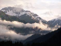 Bergwelt. Alpen . Lechtal Austria