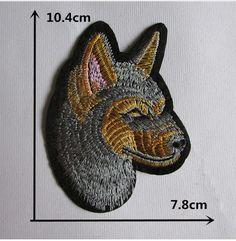 Нашивки :: Нашивка Cерая собака