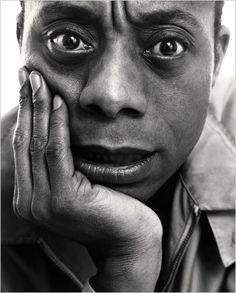 James Baldwin, 1963 by Richard Avedon