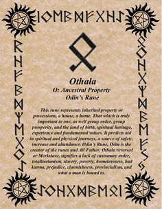 norsewarlock:  RUNE OF THE DAY! ODIN'S RUNE FOR WEDNESDAY! BLESSINGS! GALLAN www.NorseWarlock.com
