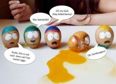 South Park Easter Eggs haha